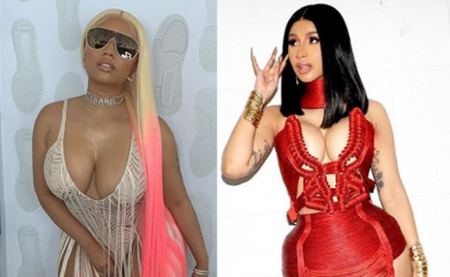 A collage og Niki Minak (Left) and Cardi B (right). Images from Instagram