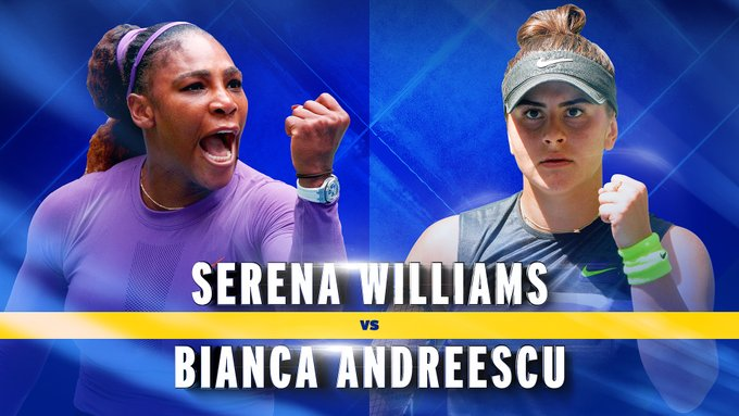 Serena Williams and Bianca Andresccu will meet in the 2019 US open final on Saturday 8 September
