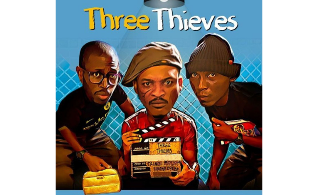 Poster for Three Thieves