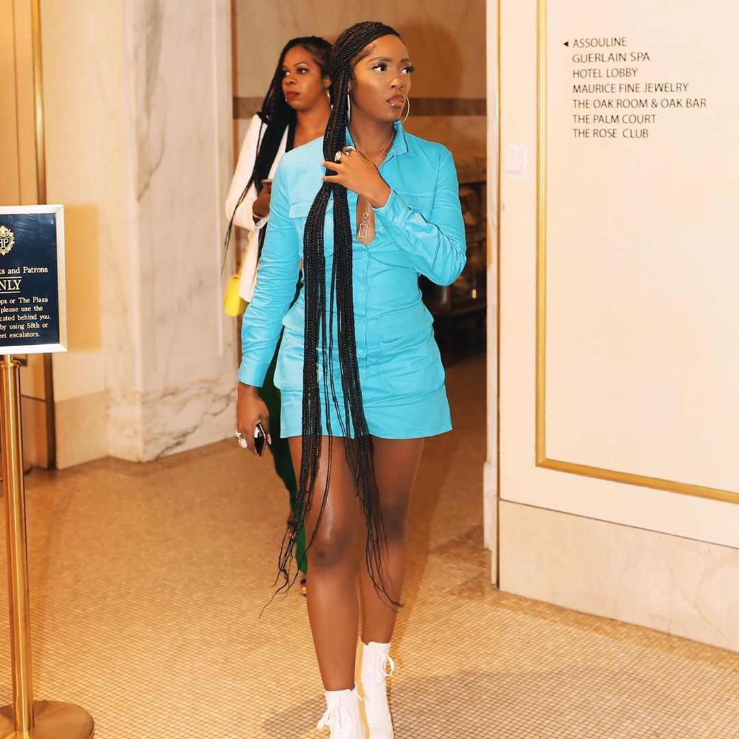 Tiwa Savage New York look