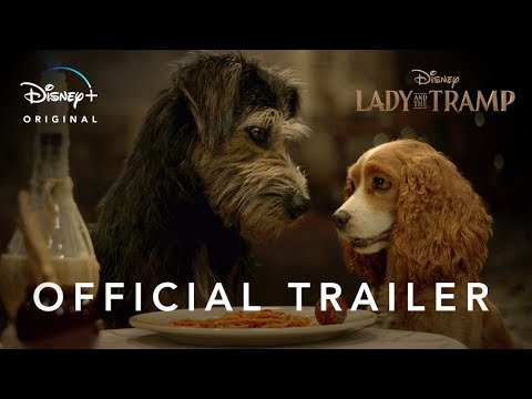 Poster for the Lady and the tramp