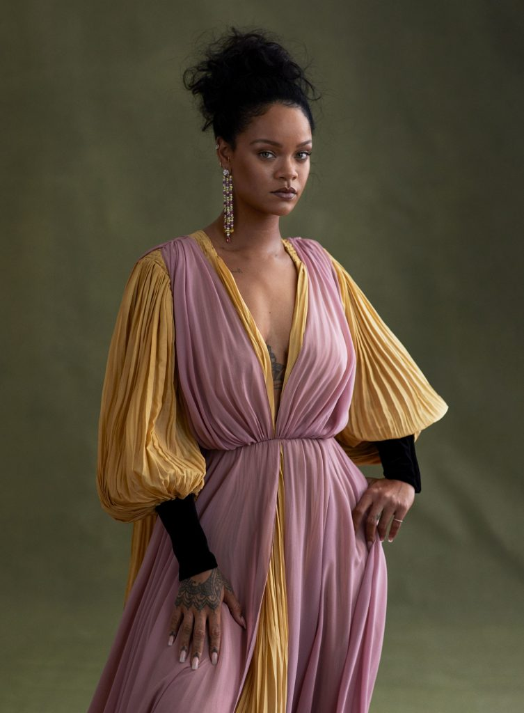 Rihanna wows in this photo from vogue