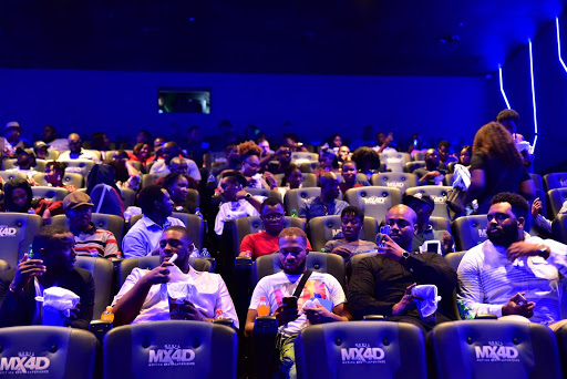 Guests at the opening of Filmhouse MX4D cinema in Lagos