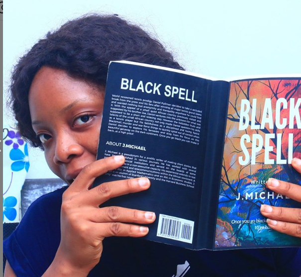 Woman reading Blacking Spell - benefits of reading
