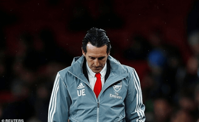 BREAKING: Unai Emery sacked from Arsenal after going seven games without win