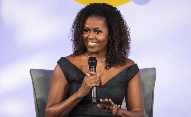 Michelle Obama's Becoming nominated for Grammy Award
