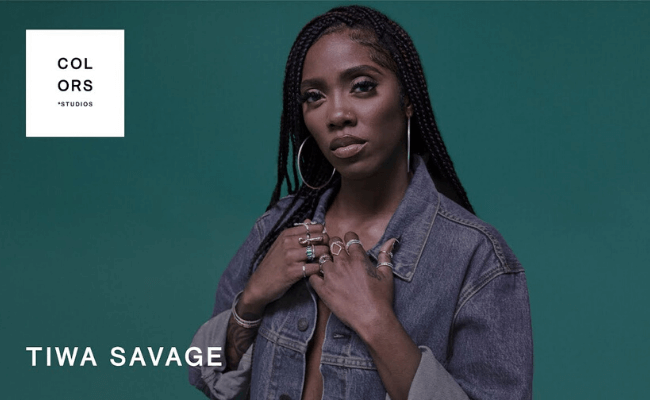 Watch Tiwa Savage perform her new song, Attention on ColorsxStudios