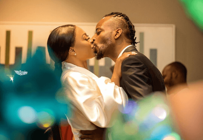 Check out these pictures from 9ice and Olasunkanmi's court and traditional wedding [photos]
