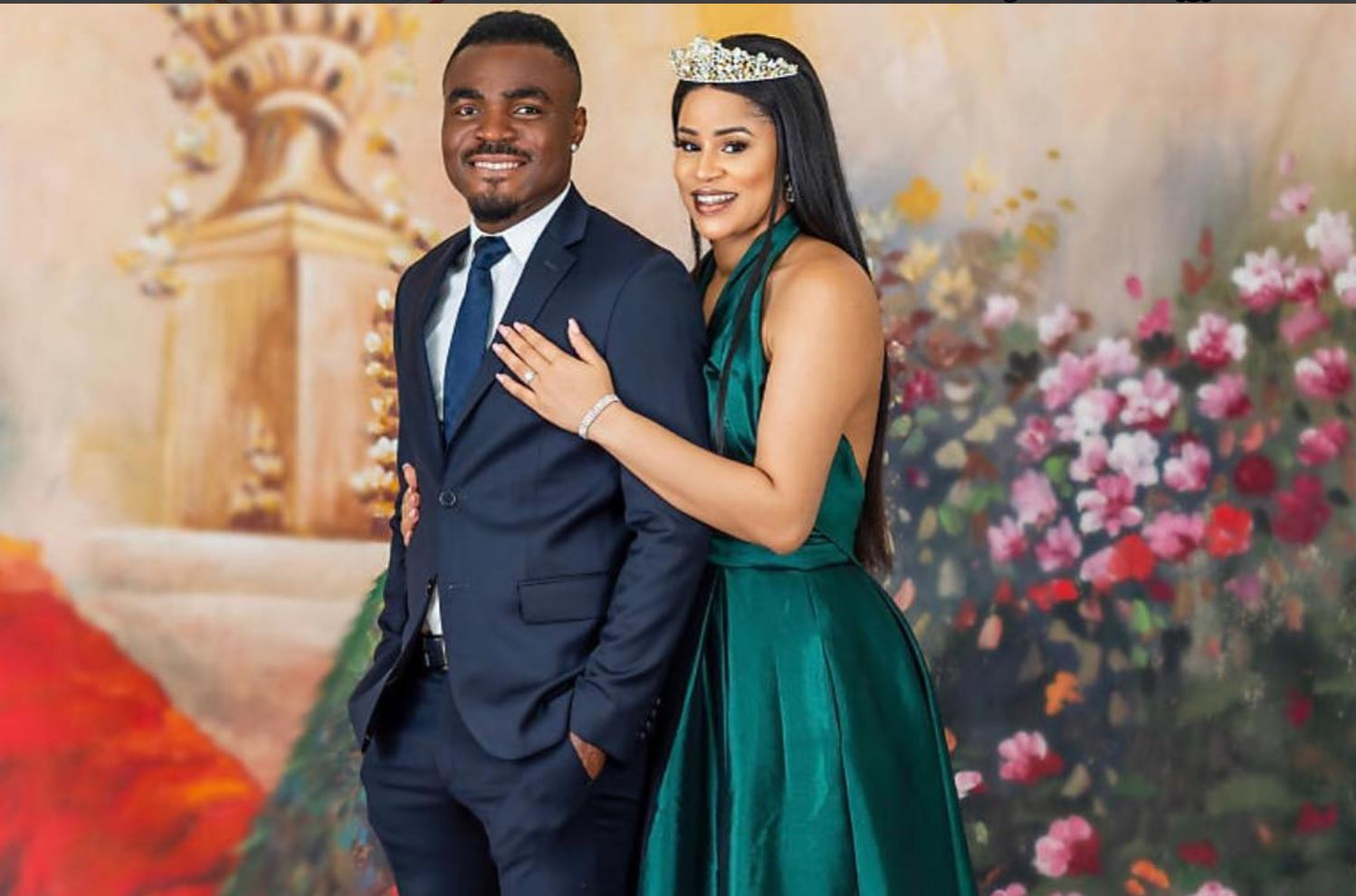 Emmanuel Emenike and wife Iheoma Nnadi