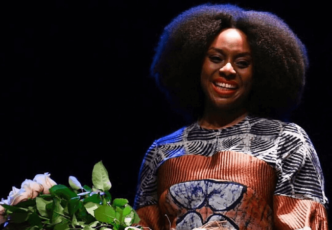 Chimamanda Ngozi Adichie receives the Bookcity Milano Prize