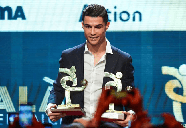 Cristiano Ronaldo is the Serie A Player of the year!