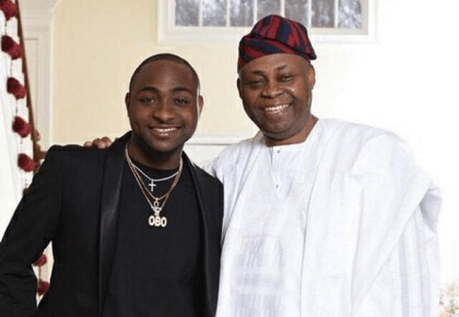 You need to read the sweet words Davido's father told him after his 'A Good Time' concert