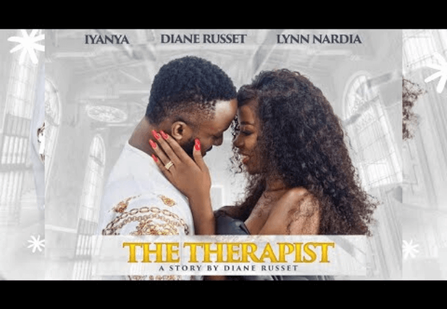 Diane Russet releases her first film, The Therapist, featuring Iyanya| Watch on Sidomex