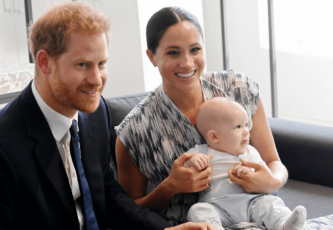 Baby Archie takes center stage in Meghan Markle and Prince Harry's Christmas card