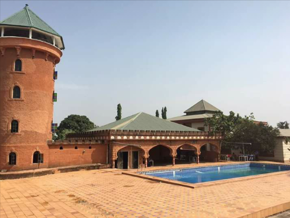 A view of Prince Ned Nwoko mansion inac Delta Stattea