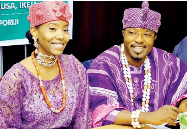 Oluwo of Iwo and estranged wife, Chanel Chin throw shade at each other on Instagram