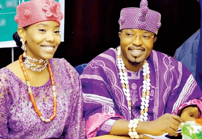 Oluwo of Iwo announces end of marriage to Jamaican wife, Chanel Chin