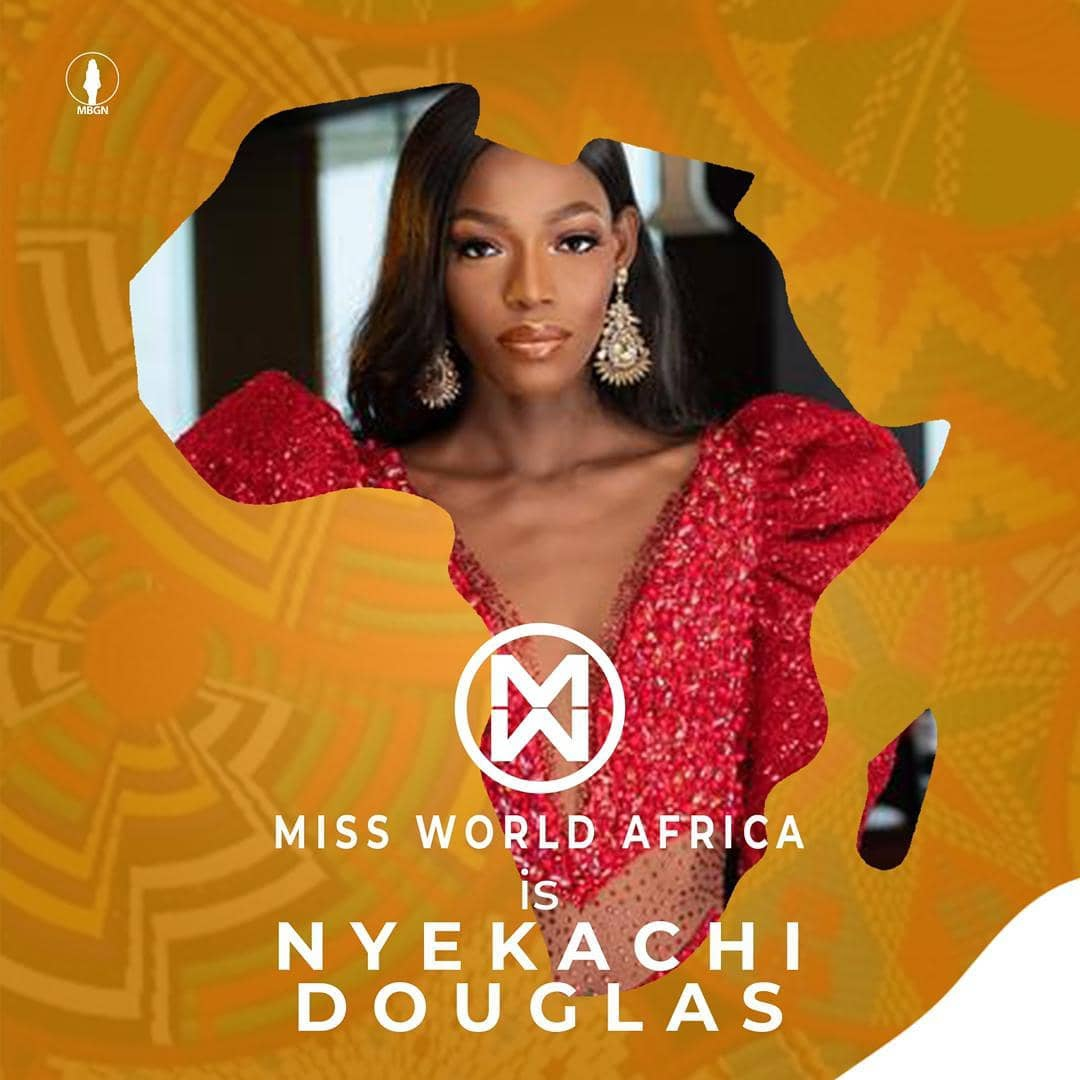 Top model, Miss World Africa: Catch up with Miss Nigeria, Nyekachi Douglas' Miss World journey