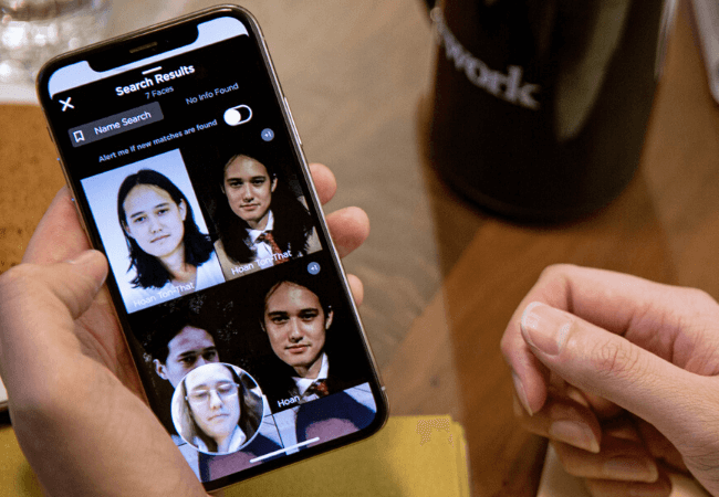 This facial recognition app lets strangers find your details with just a photo| See all the details