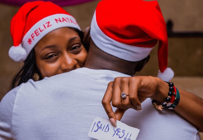 #TheKhadoniWedding: Watch how Gedoni popped the question to Khafi during their vacation [video]