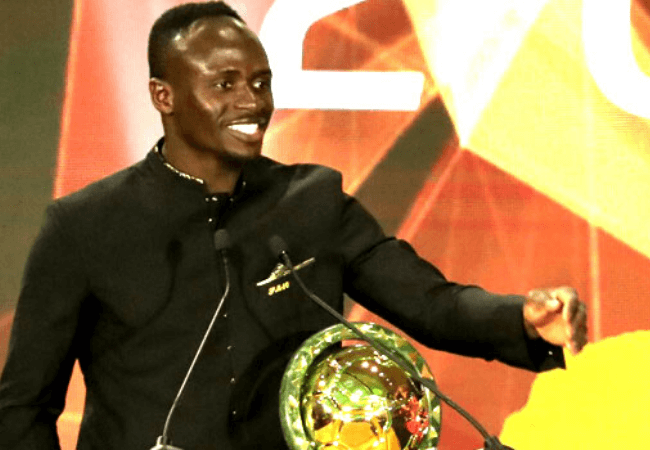 Sadio Mane is the African Men's player of the year| See full list