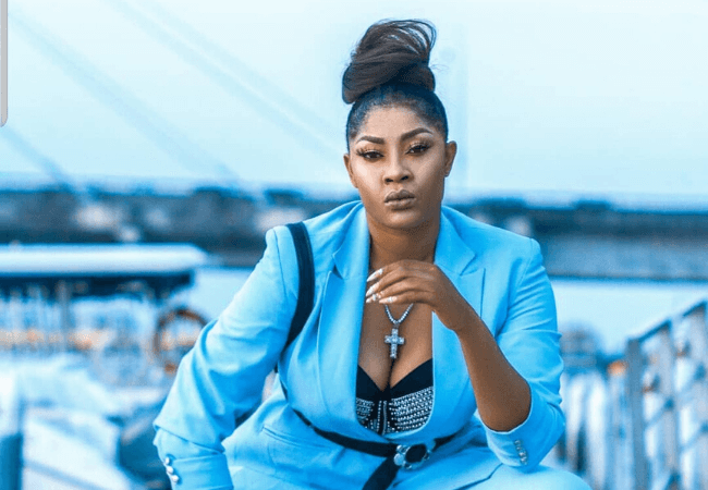 'I cant sleep without sleeping tablets' - Angela Okorie says as she describes sad experiences