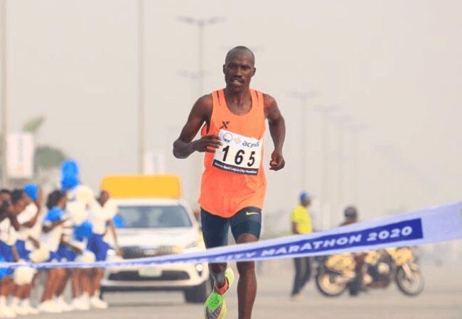 Kenyan, David Barmasai Tumo wins the Lagos City Marathon [photos+video]| See all winners