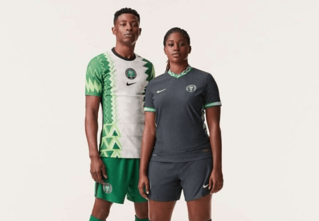 Check out the new Nigerian jerseys inspired by traditional agbada [photos]