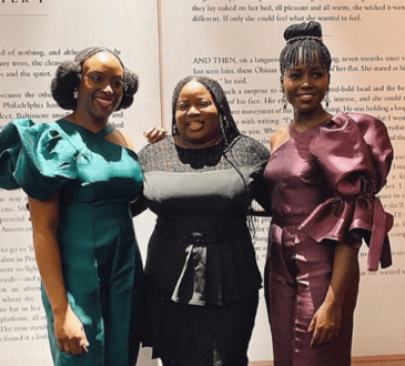 Chimamanda Ngozi Adichie hosts Lupita Nyong'o to a private dinner in Lagos