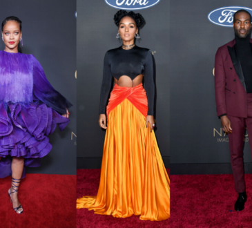 Rihanna, Lizzo, Cynthia Erivo stun on the NAACP Image Awards red carpet| See all photos on Sidomex