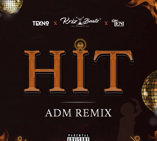Cover art for Hit Adm Remix by