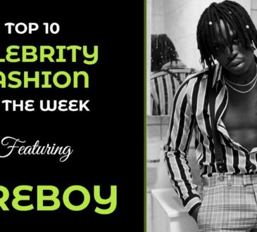 Top 10 celebrity fashion of the week: Fireboy DML, Dencia, BBN's Mike Edwards, Toke Makinwa slay on Instagram this week