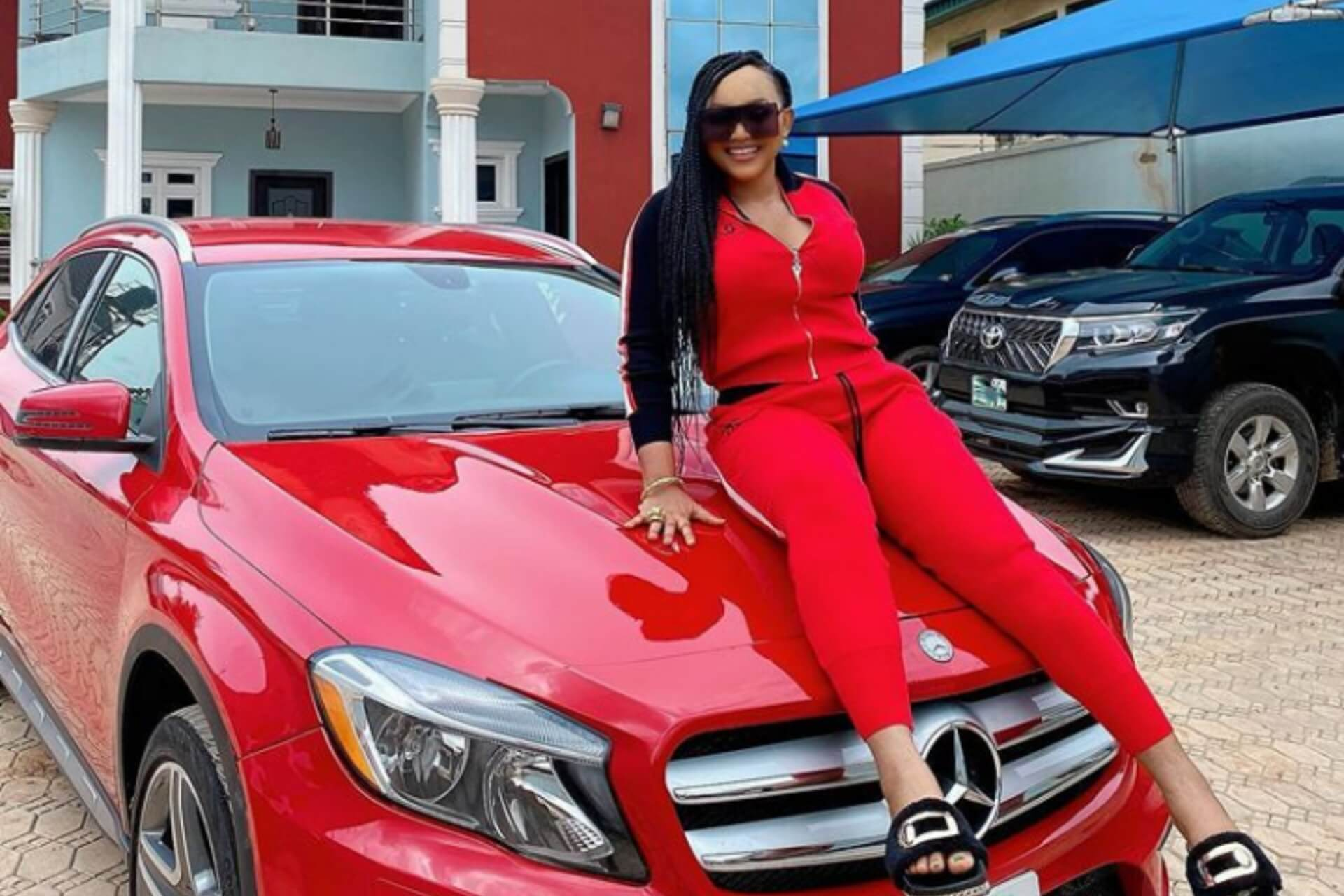 Nollywood actress Mercy Aigbe joins Benz gang