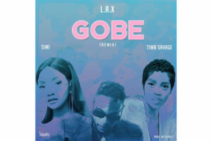 Cover art for Gobe remix featuring Simi and Tiwa Savage