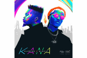 Cover art for the song Kana by Olamide featuring Wizkid