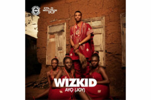 cover art for the cover of WIzkid's album titled Ayo