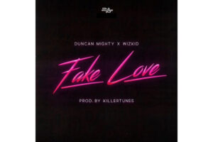 Cover art for Fake Love by Wizkid and Duncan Mighty
