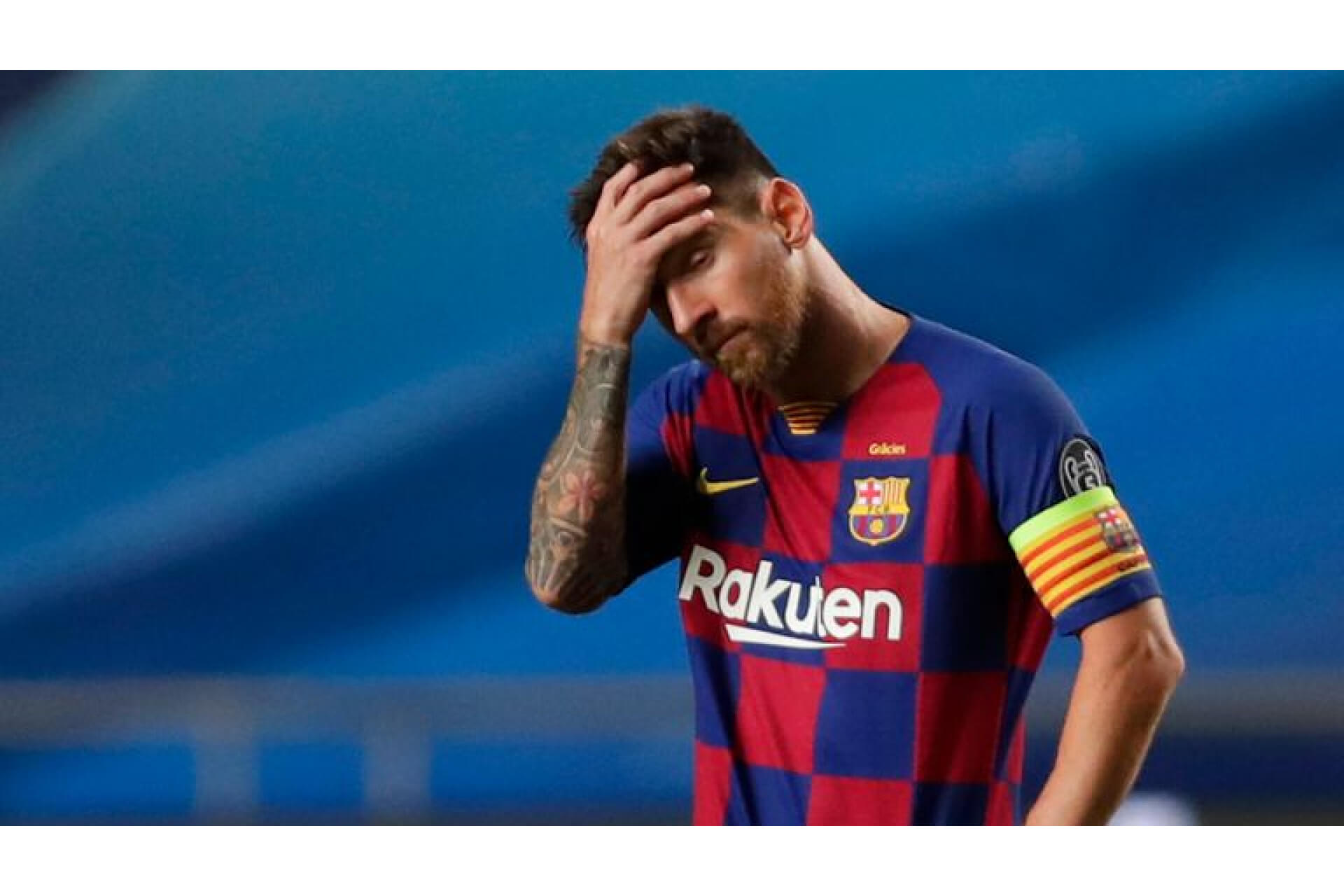 Messi asks to leave Barcelona