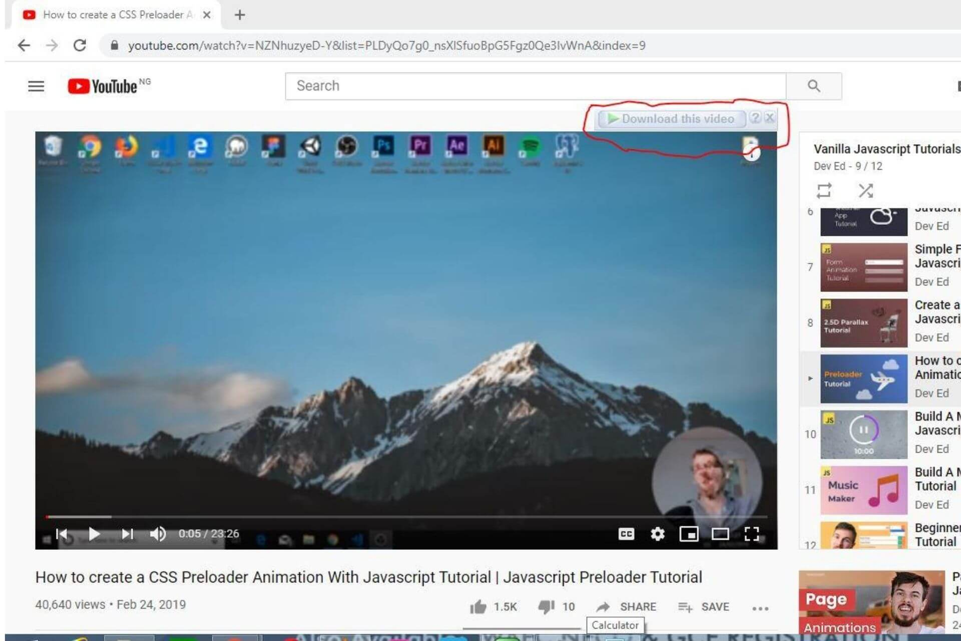 Internet Download Manager Video Download Extension