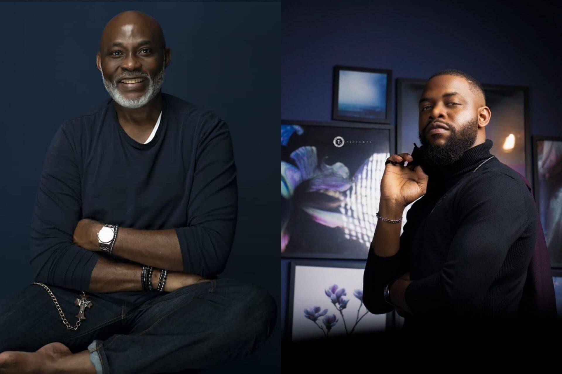 Richard Mofe-Damijo and Efa Iwara join the cast of 'King of Boys'