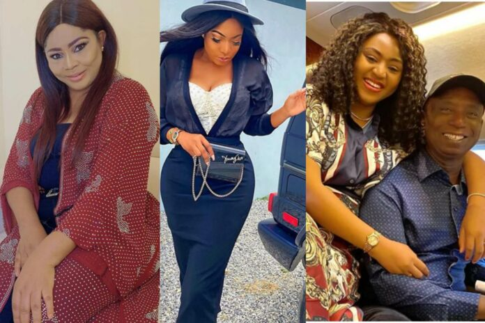 Regina Daniels' mother called out Chika Ike over Ned Nwoko