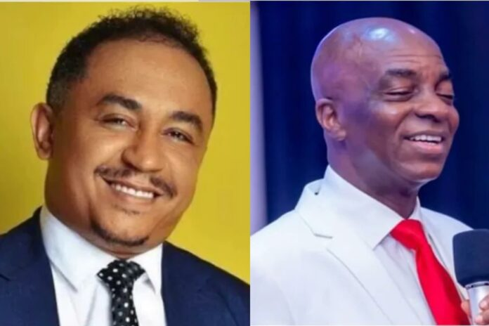 Daddy Freeze apologizes for insulting Bishop Oyedepo