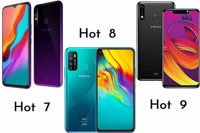 Comparting Hot 7, 8 and 9 in Nigeria