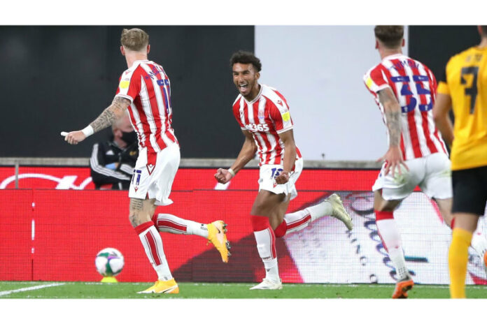 Stoke City knocks Wolves out of the Carabao cup with late goal