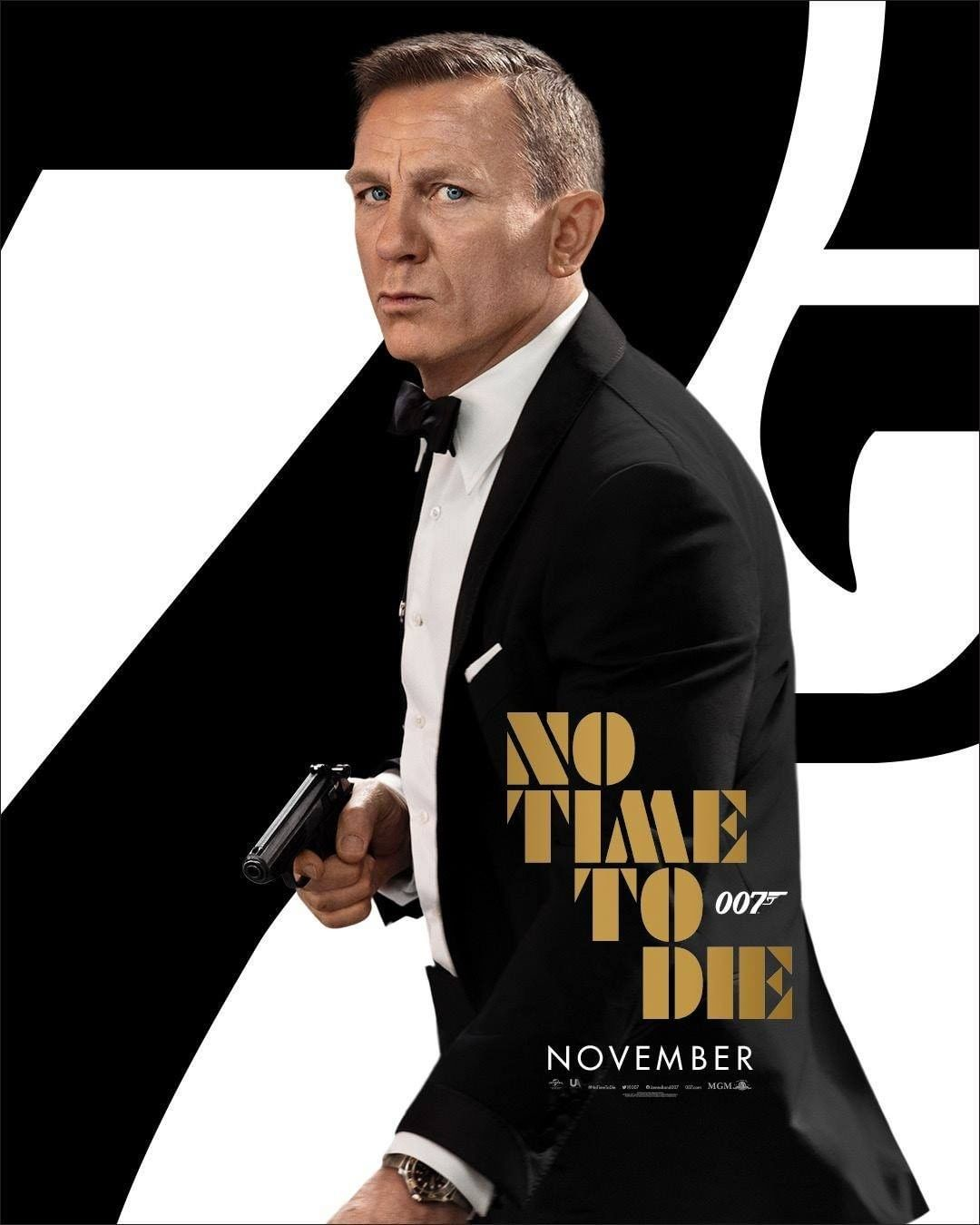 Trailer Thursday: 'No Time to Die' set for November cinema release