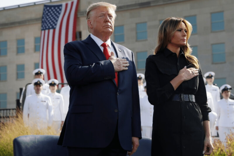 Donald Trump and first lady contract COVID-19