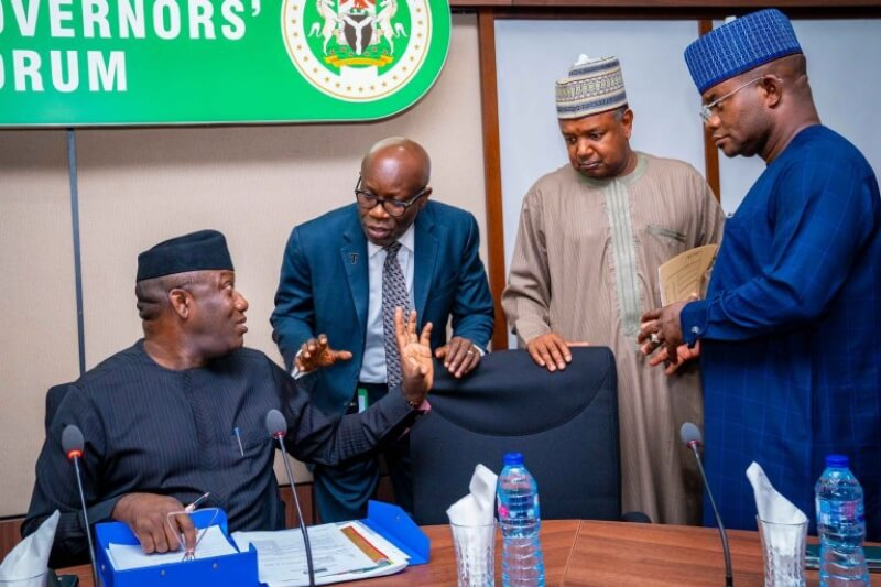 Nigerian Governors plead with #EndSARS protesters to end protest