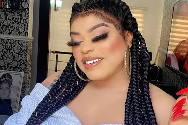 Bobrisky brags about getting an iPhone 12