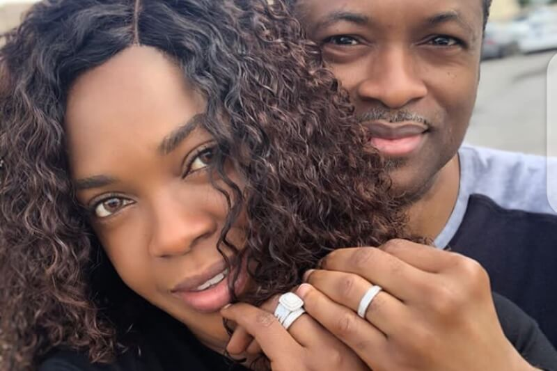 Omoni Oboli celebrates 20th anniversary with hubby