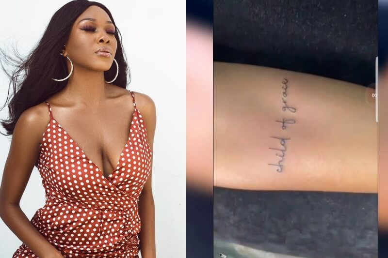 Vee gets first tattoo
